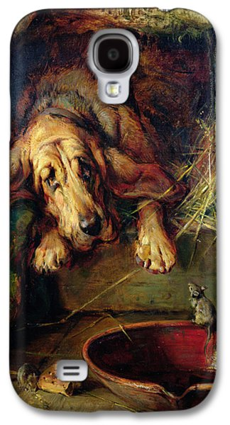 When The Cat's Away The Mice Will Play  Galaxy S4 Case by Philip Eustace Stretton