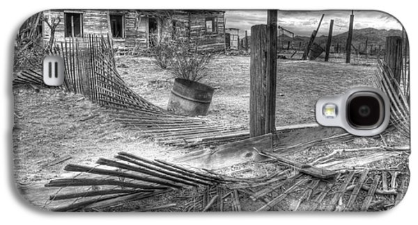 Where Does The Story End Monochrome Galaxy S4 Case