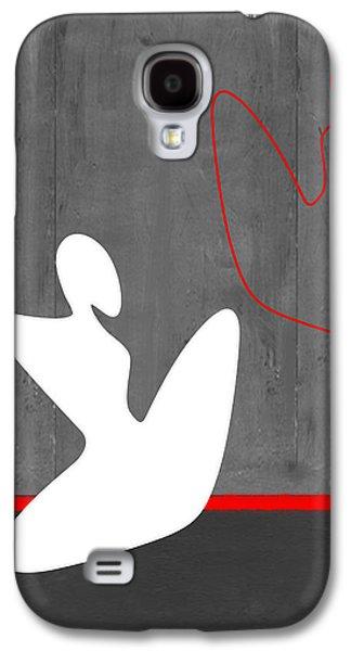 White Girl Galaxy S4 Case by Naxart Studio