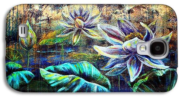 White Lotus Galaxy S4 Case