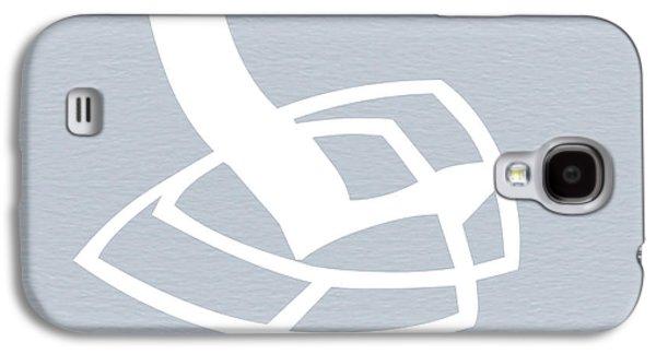 White Rocking Chair Galaxy S4 Case by Naxart Studio