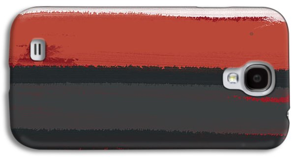 White Stripe Galaxy S4 Case