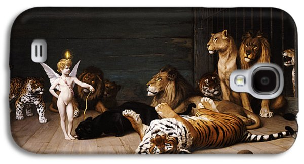 Whoever You Are Here Is Your Master Galaxy S4 Case by Jean Leon Gerome