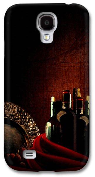 Wine Break Galaxy S4 Case by Lourry Legarde