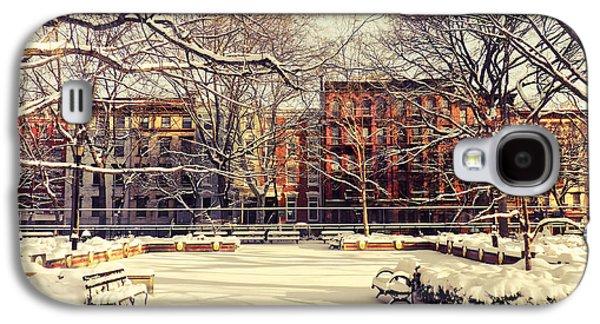 Winter - New York City Galaxy S4 Case by Vivienne Gucwa