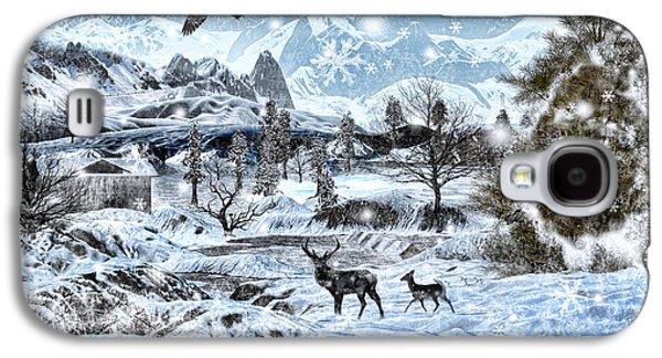 Winter Wonderland Galaxy S4 Case by Lourry Legarde