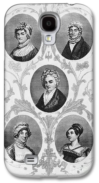 Wives Of Founding Fathers Galaxy S4 Case by Granger