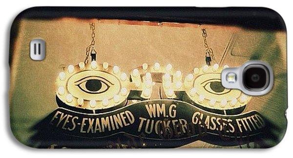 Light Galaxy S4 Case - Wm.g Tucker Glasses by Natasha Marco