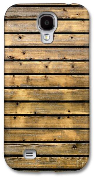 Wood Planks Galaxy S4 Case