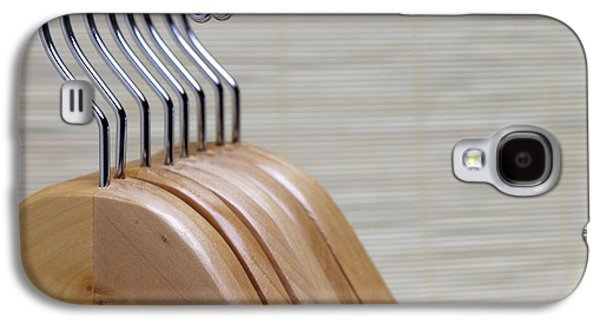 Wooden Clothes Hangers Galaxy S4 Case