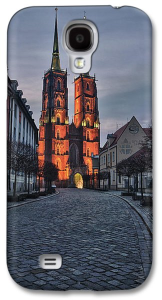 Wroclaw Cathedral Galaxy S4 Case by Sebastian Musial