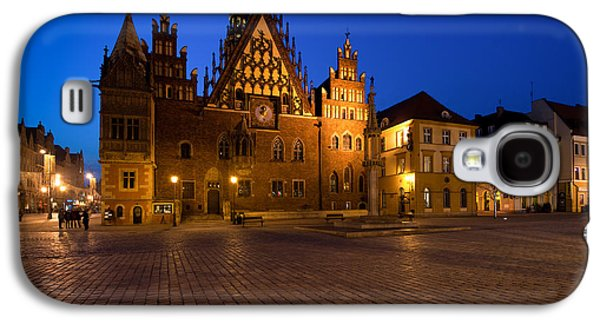 Wroclaw Town Hall At Night Galaxy S4 Case