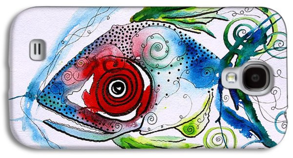 Wtfish 001 Galaxy S4 Case by J Vincent Scarpace