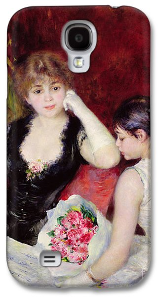 At The Concert Galaxy S4 Case by Pierre Auguste Renoir