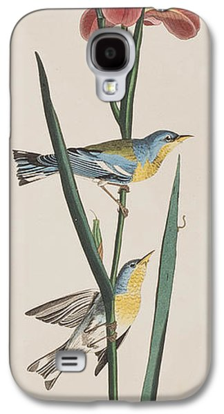 Blue Yellow-backed Warbler Galaxy S4 Case