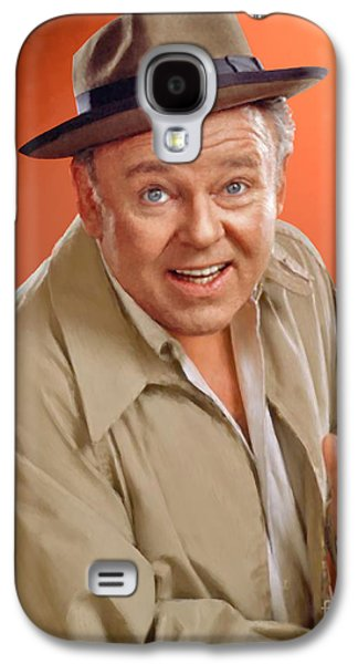 Carroll O'connor As Archie Bunker Galaxy S4 Case