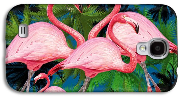 Flamingo Galaxy S4 Case