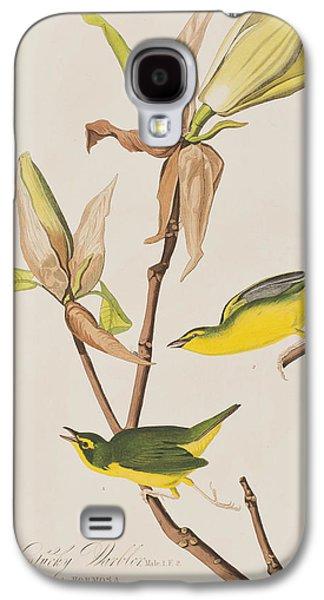 Warbler Galaxy S4 Case -  Kentucky Warbler by John James Audubon