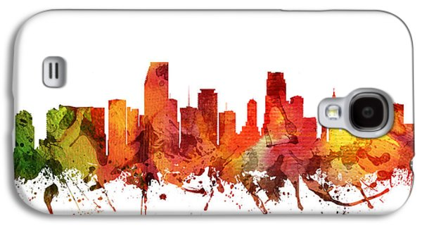 Miami Cityscape 04 Galaxy S4 Case by Aged Pixel