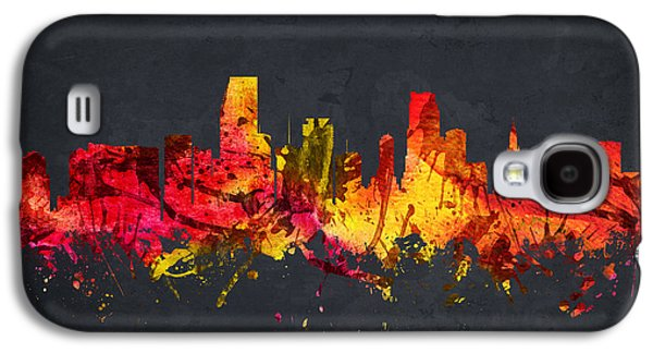 Miami Cityscape 07 Galaxy S4 Case by Aged Pixel