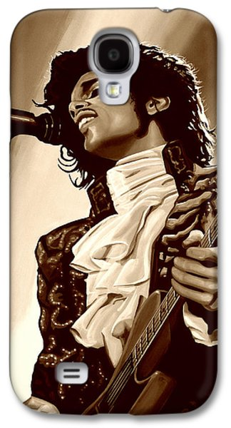 Prince The Artist Galaxy S4 Case by Paul Meijering