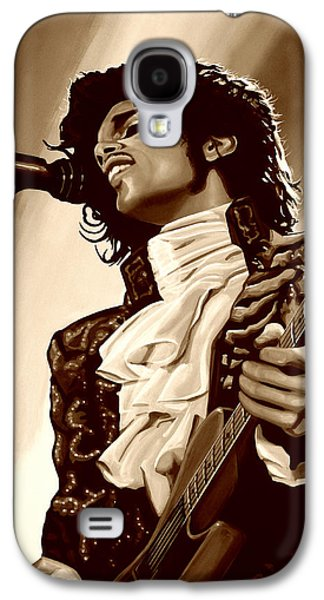 Rhythm And Blues Galaxy S4 Case -  Prince The Artist by Paul Meijering