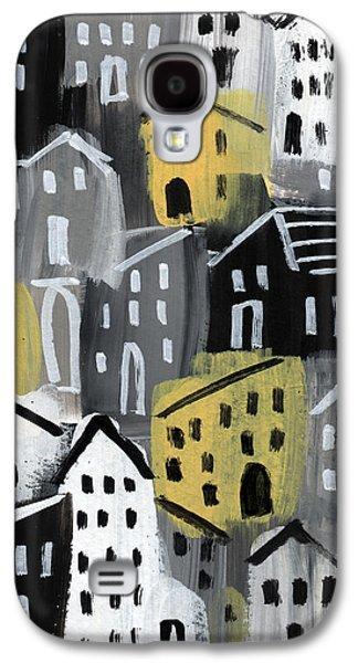 Rainy Day - Expressionist Art Galaxy S4 Case
