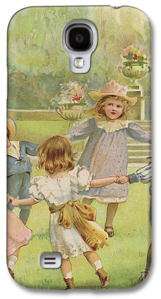 Ring A Ring O Roses Galaxy S4 Case by English School