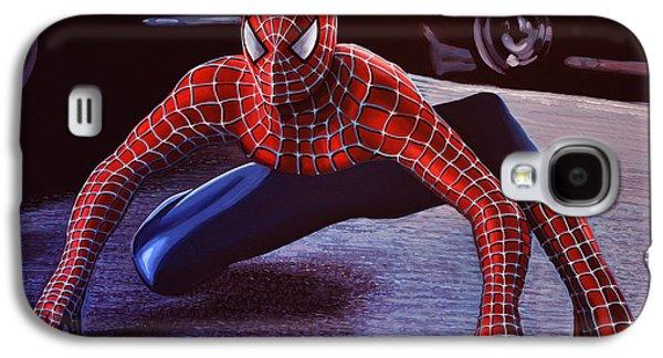 Spiderman 2  Galaxy S4 Case by Paul Meijering