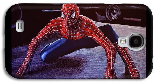 Spider Galaxy S4 Case -  Spiderman 2  by Paul Meijering