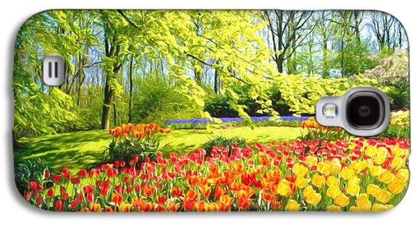 Spring Garden Galaxy S4 Case by Veikko Suikkanen