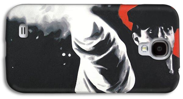 - The Godfather - Galaxy S4 Case by Luis Ludzska