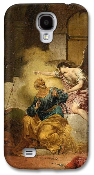 The Liberation Of Saint Peter Galaxy S4 Case by Celestial Images