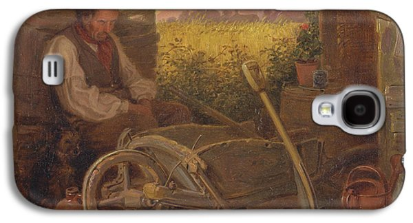 The Old Gardener Galaxy S4 Case by Celestial Images