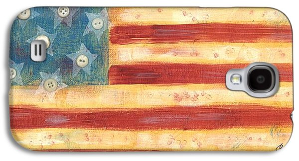 U.s. Flag Vintage Galaxy S4 Case