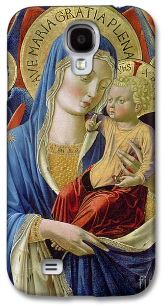 Virgin And Child With Angels Galaxy S4 Case by Benozzo di Lese di Sandro Gozzoli