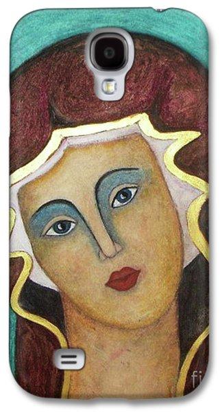 Virgin Mary Galaxy S4 Case by Vesna Antic
