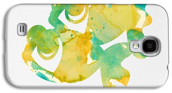 Watercolor Painting For Nurseries - Twins Galaxy S4 Case