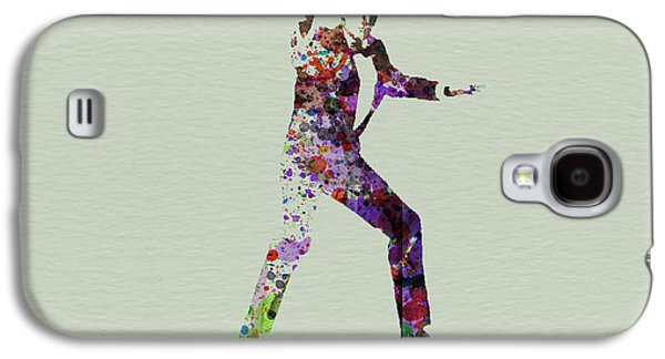 Movie Art Galaxy S4 Cases - 007 Watercolor Galaxy S4 Case by Naxart Studio