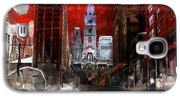 081 Parade On South Broad Street Galaxy S4 Case by Maryam Mughal
