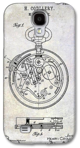 1913 Pocket Watch Patent Galaxy S4 Case