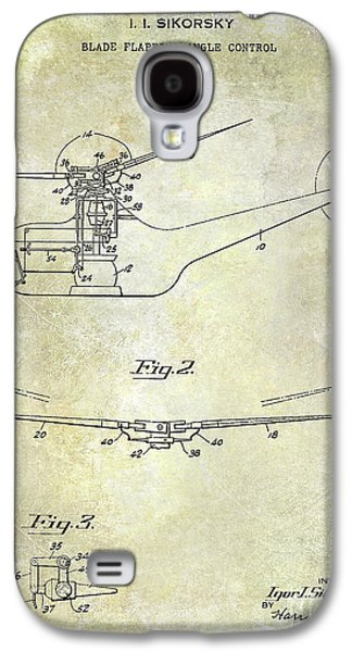 1947 Helicopter Patent Galaxy S4 Case