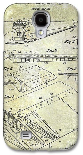 1949 Helicopter Patent Galaxy S4 Case