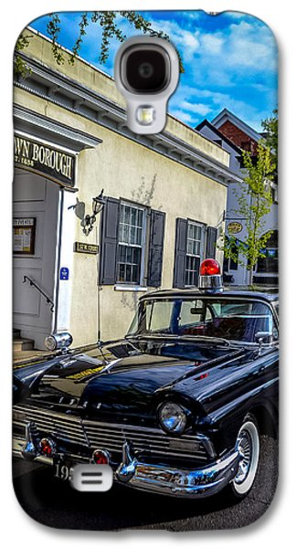 1957 Doylestown Borough Police Cruiser Galaxy S4 Case by Michael Brooks