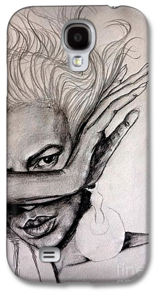 Against The Wind Galaxy S4 Case by Georgia's Art Brush