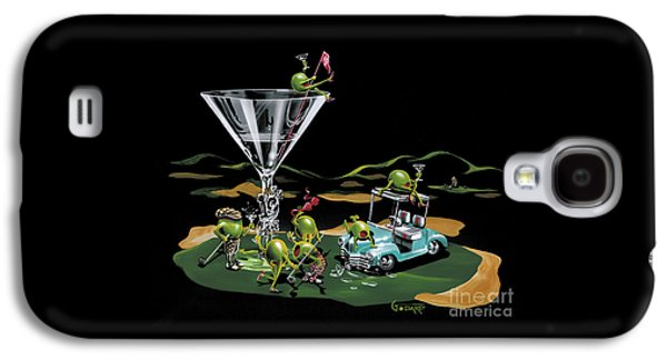 Martini Galaxy S4 Case - 19th Hole by Michael Godard