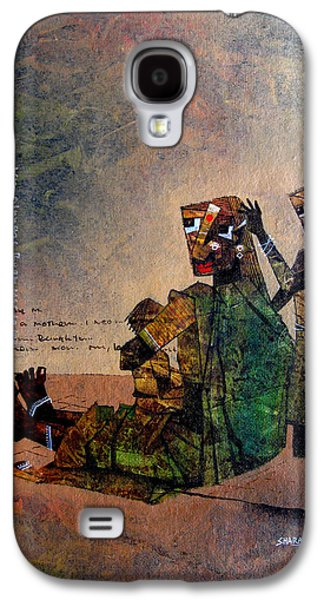 A Mother With Siblings Galaxy S4 Case by Sharath Palimar