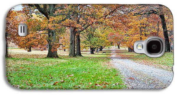 A Walk In The Park Galaxy S4 Case by Robert Culver