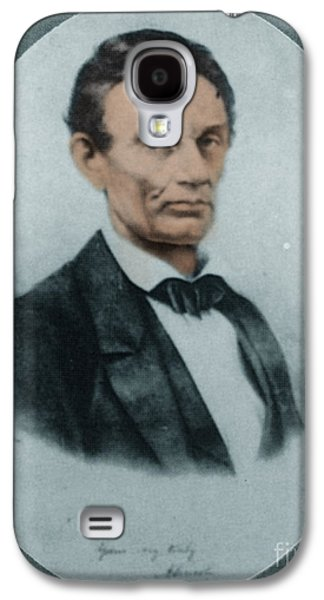 Abraham Lincoln, 16th American President Galaxy S4 Case by Science Source