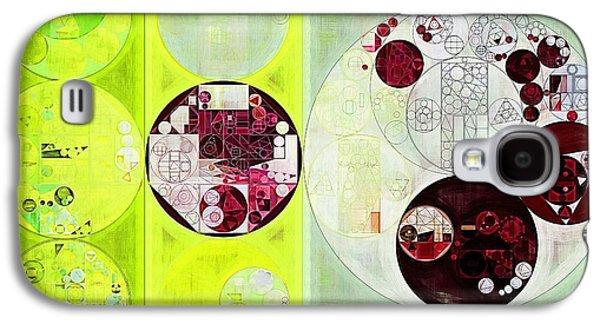 Abstract Painting - Dark Sienna Galaxy S4 Case by Vitaliy Gladkiy